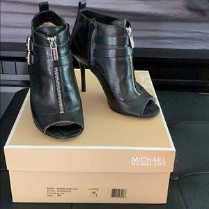 Michael Kors Brenda open toe heels